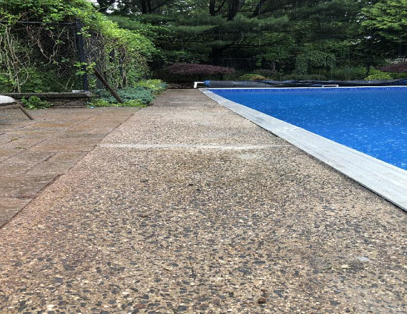 PolyLevel Pool Deck Repair in NY - After Photo