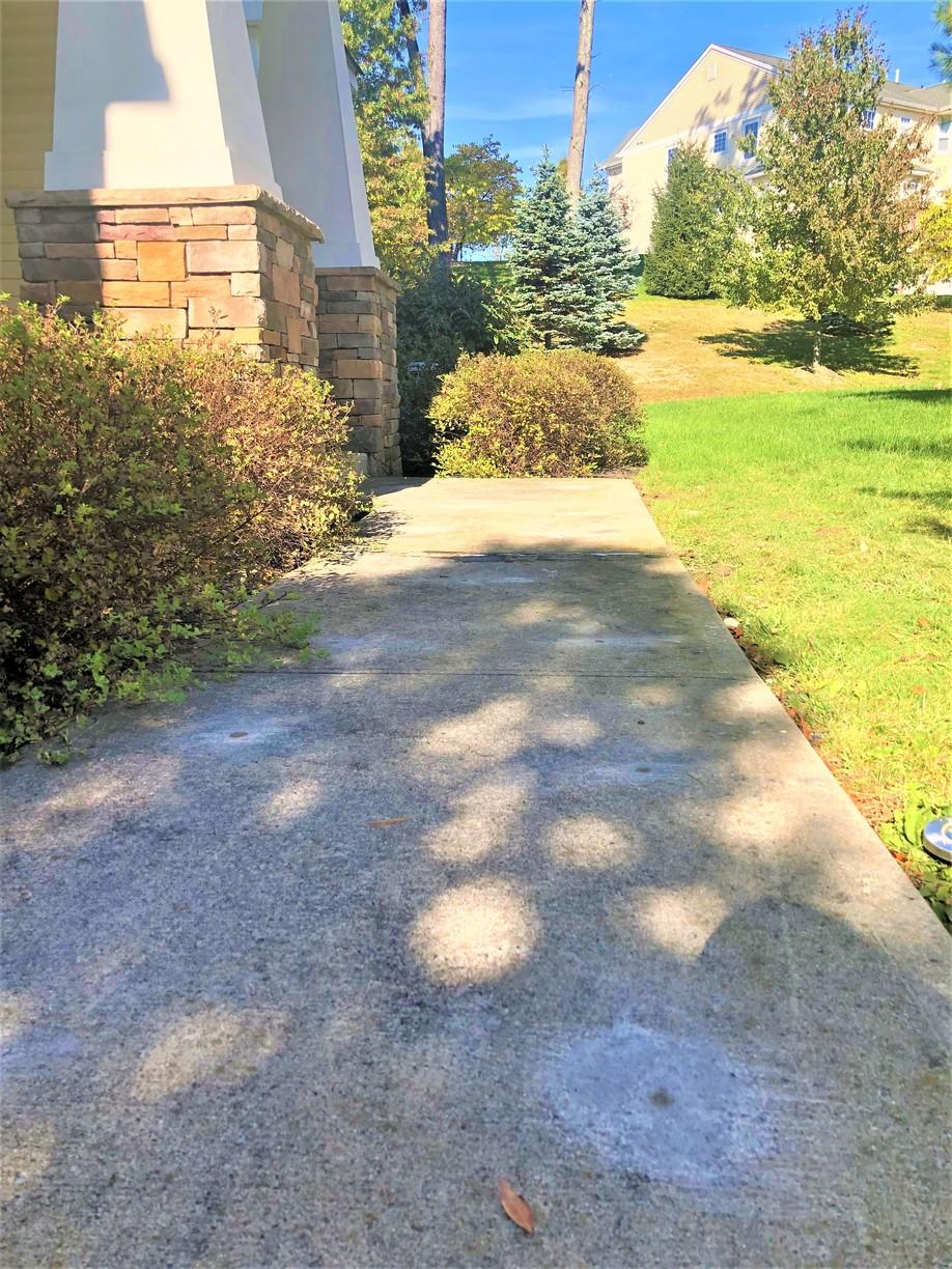 Lifting A Sidewalk Slab With The Help of PolyLevel - Middletown, NY - After Photo