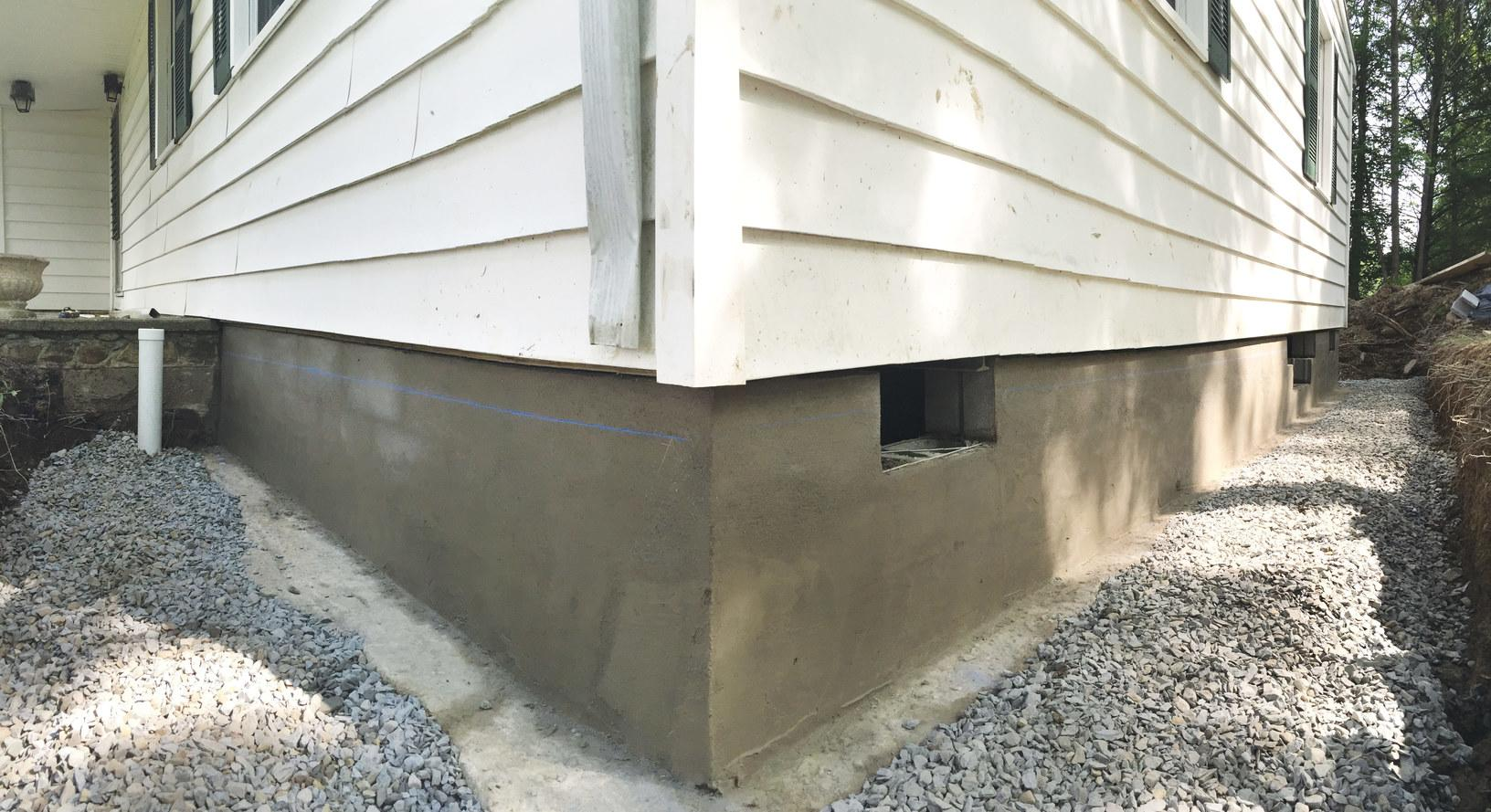 New Foundation in Gardiner, NY - After Photo
