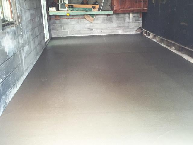 New Garage Floor