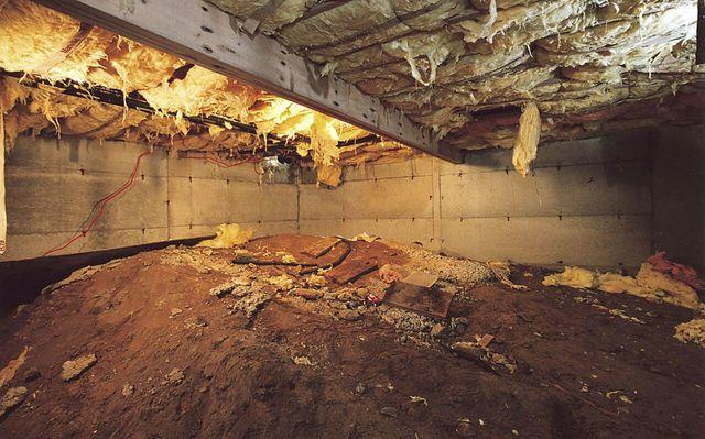 Crawl Space Transformation in Woodstock NY