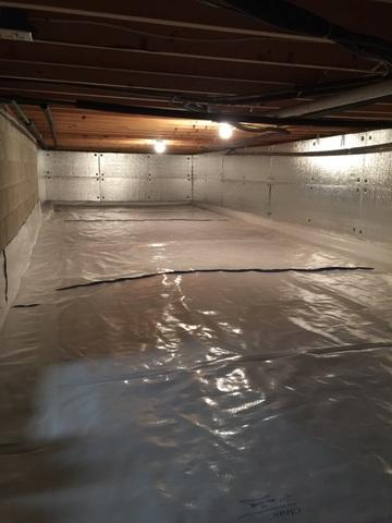 Milford PA CleanSpace and SilverGlo Crawlspace transformation!