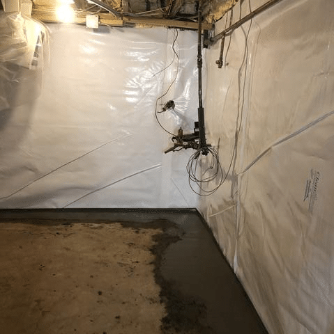 Installing CleanSpace & FlowGuard for a meat locker - Hurleyville, NY