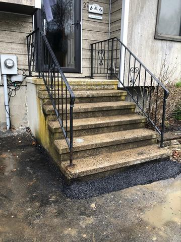 Leveling and Truing a Porch and Steps with PolyLevel - Fishkill, NY