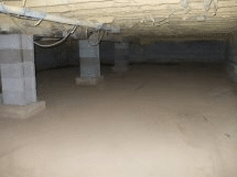 Crawlspace in Bearsville, NY