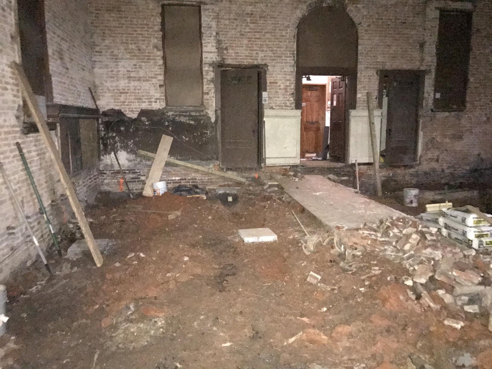 Baltimore City, MD Crawl Space Repair - Before Photo