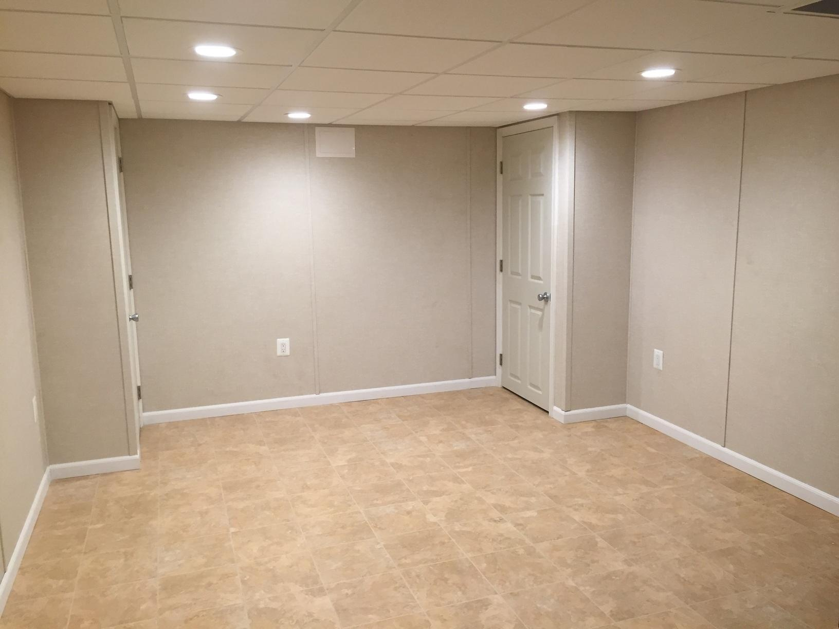 Philadelphia Rowhome Basement Transformed - After Photo