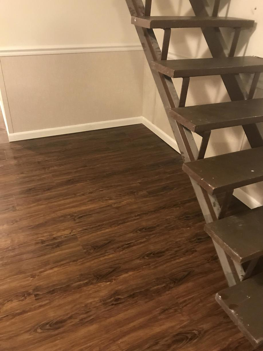 Restoration with Waterproof Products = No More Mold in a Baltimore, MD Basement - After Photo