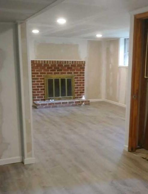 Eldersburg, MD basement needed egress and finishing - After Photo