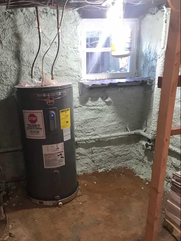 Gwynn Oak MD ,Waterproofing Job - Before Photo