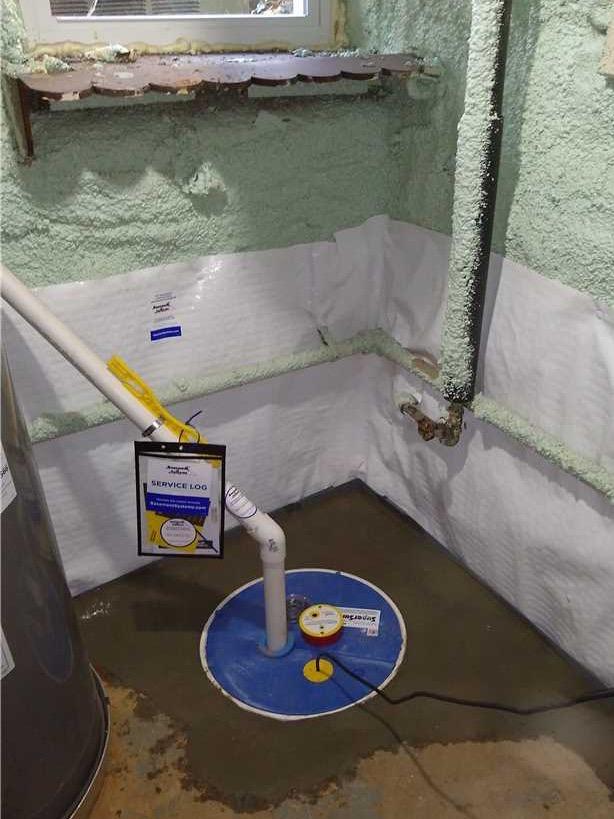 Gwynn Oak MD ,Waterproofing Job - After Photo