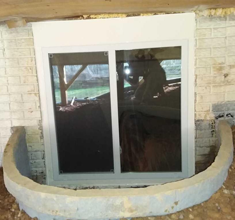 Egress Window Install in Hanover, MD - After Photo