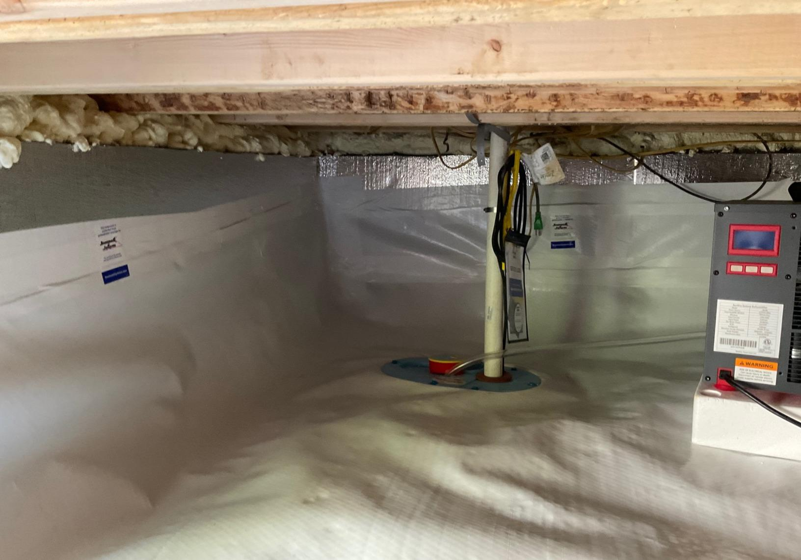 Crawlspace Mold Removal in Columbia, MD - After Photo