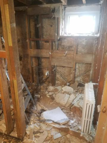 Baltimore Finished Basement Mold Problem Solved