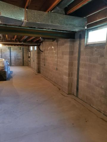 Bowed Walls and Wet Basement Fixed in Kennett Square, PA