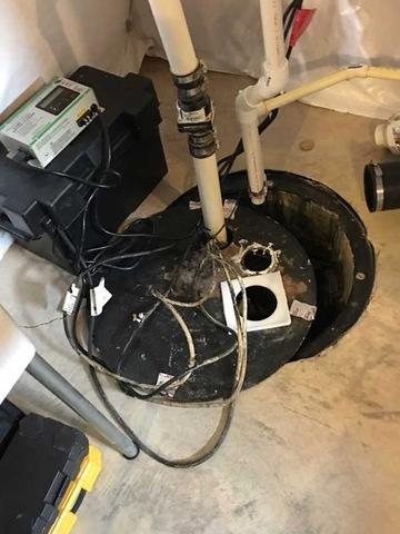 Havre de Grace TripleSafe Sump System Install