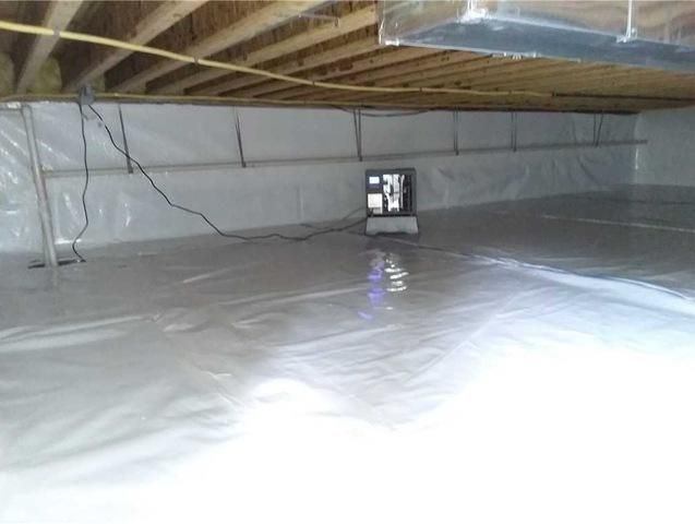 Malvern PA Crawlspace in need of some TLC