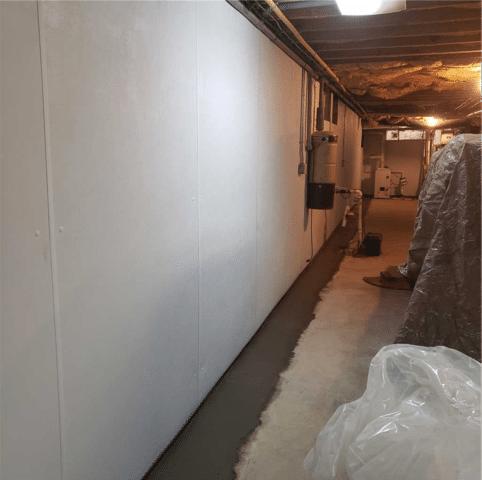 Damp Basement in Lancaster PA