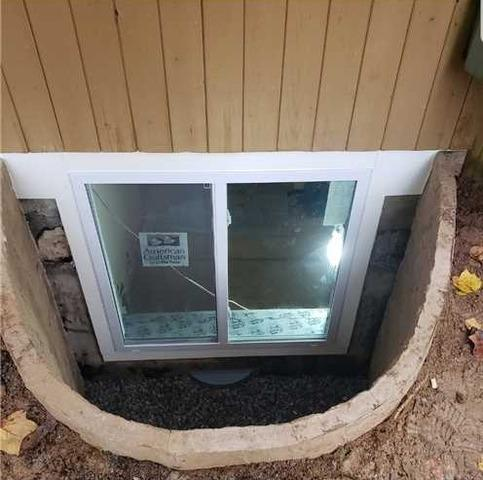 Egress Window install in Randallstown MD