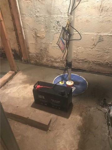 Folcroft PA Waterproofing Job