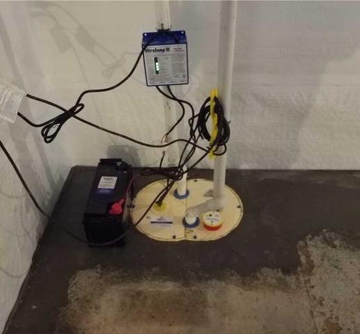 Sump Pump upgrade in Oxford PA