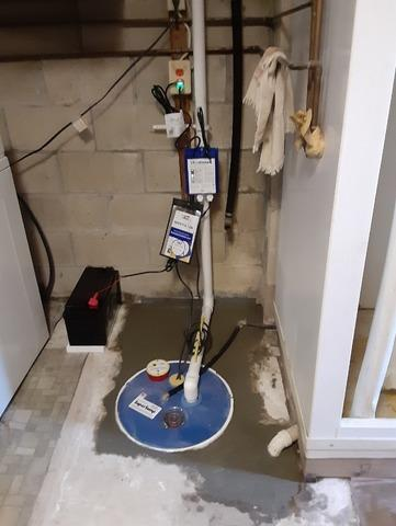 Sump Pump Upgrade in North East MD