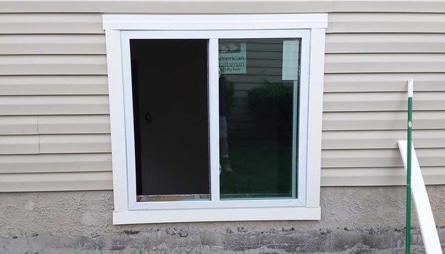 Egress Window install in Randallstown MD