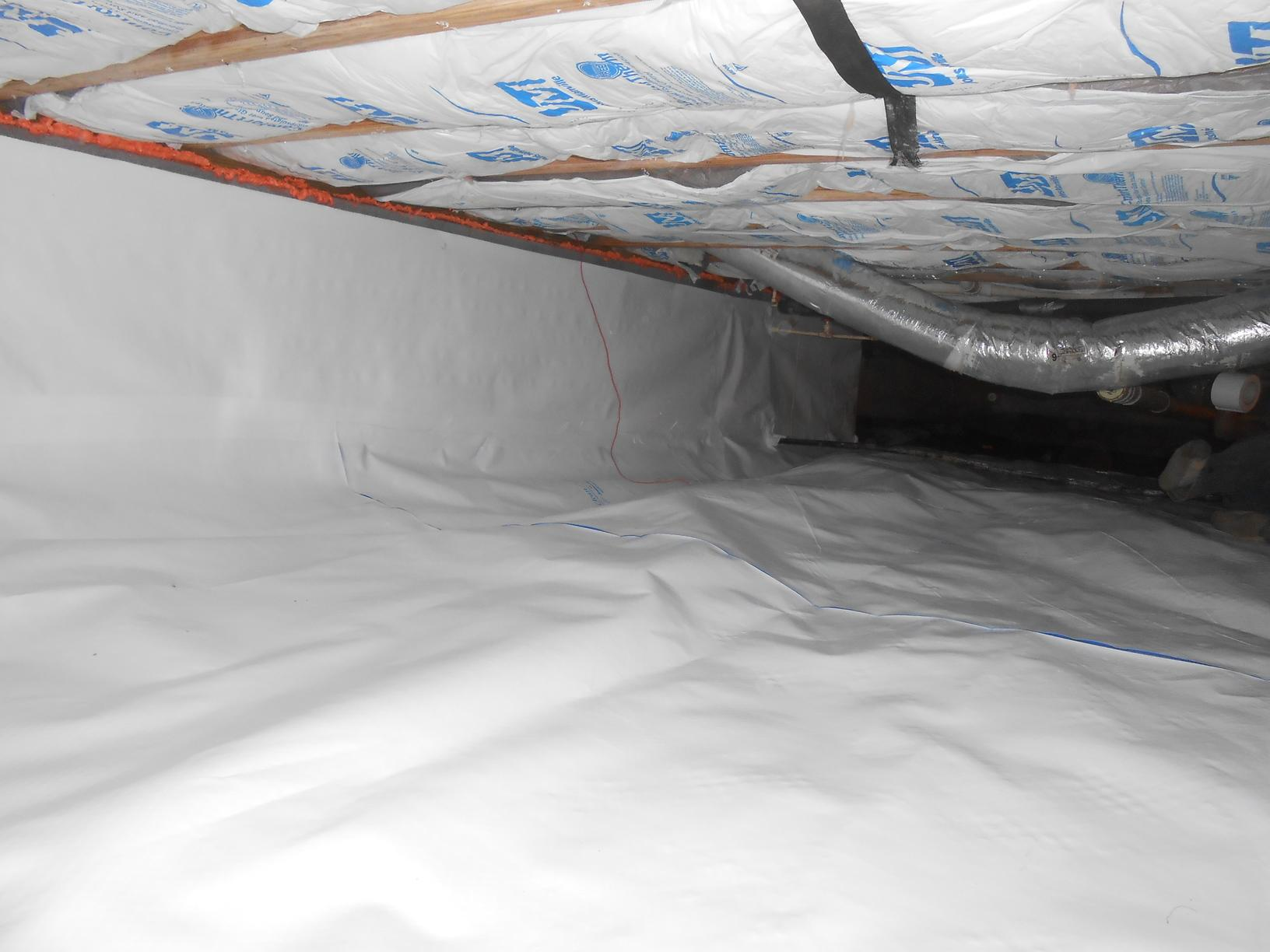 Crawl Space Encapsulation in Proctorville, OH - After Photo
