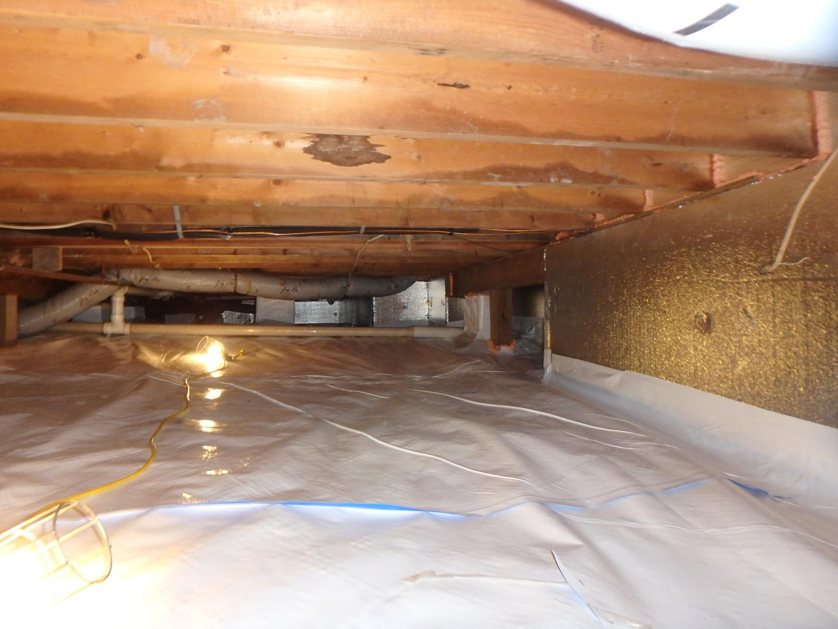 Crawl Space Encapsulation in Hedgesville, WV - After Photo