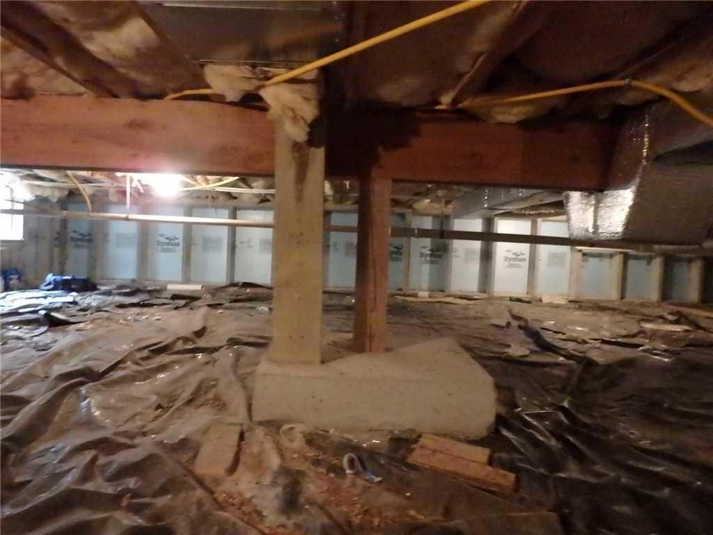 Crawl Space Repair & Encapsulation in Morgantown, WV - Before Photo