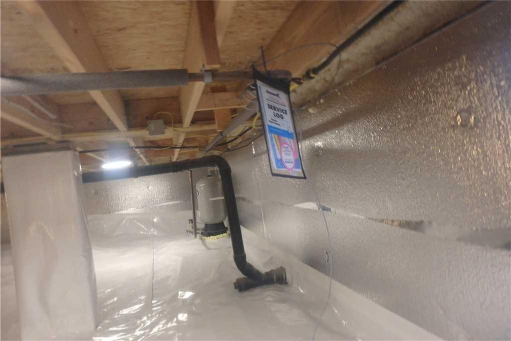 Crawl Space Encapsulation in Maysville, WV - After Photo