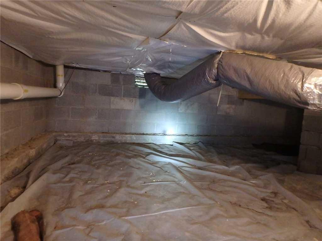 Crawl Space Repair in Shepherdstsown, WV - Before Photo