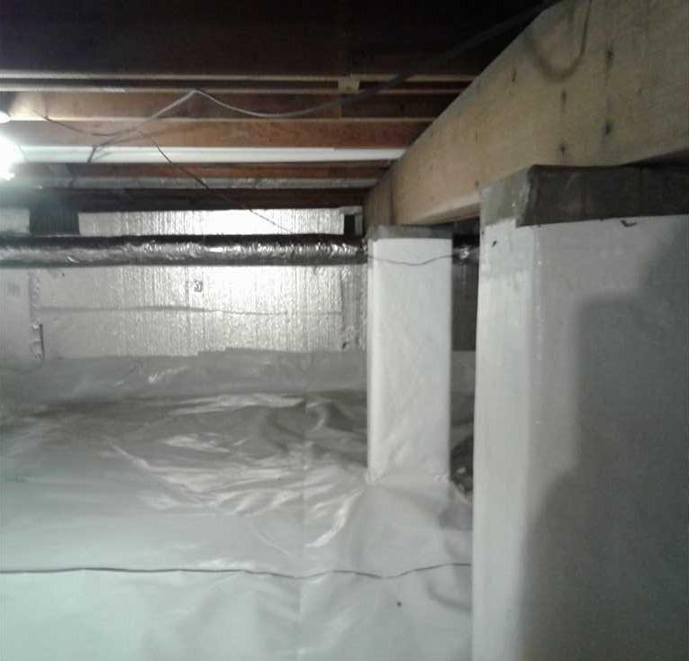 Crawlspace Cleanup in Harpers Ferry WV - After Photo