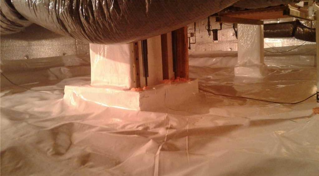 Crawl Space Encapsulation of Family Home in Shepherdstown WV - After Photo