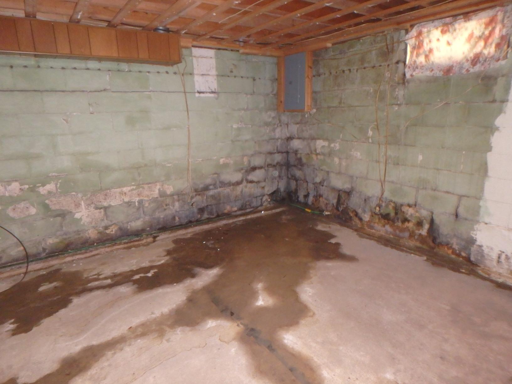 Basement Makeover in Parkersburg, West Virginia - Before Photo