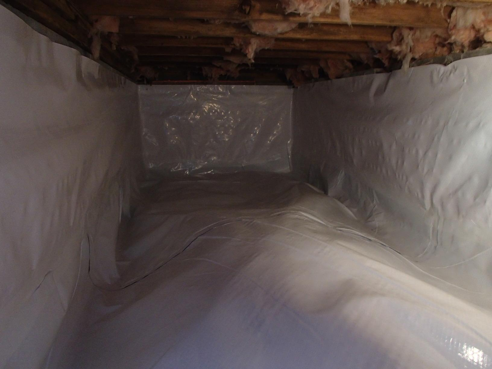 Before & After: Crawl Space Encapsulation in Martinsburg, West Virginia   - After Photo