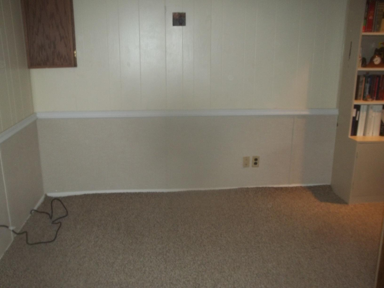 Before & After: A Great Looking Solution to Water Damaged Walls - After Photo