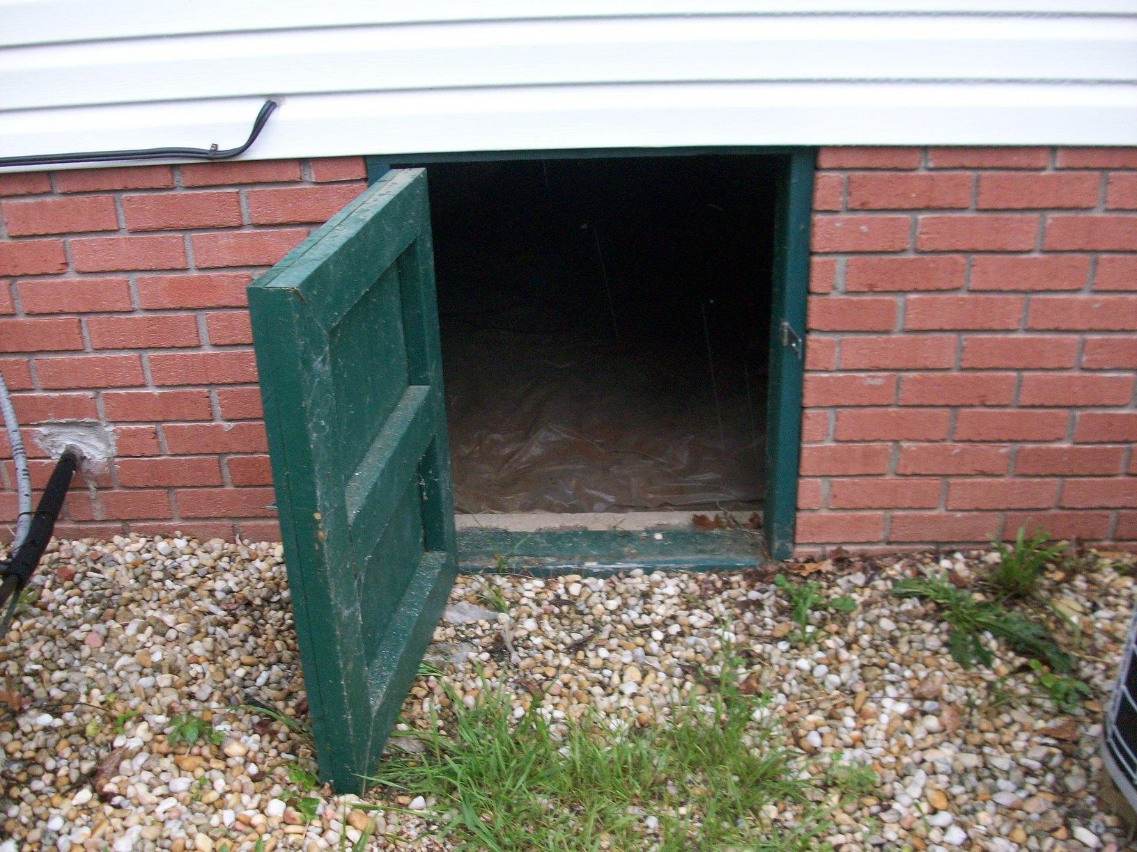 EverLast Doors Installed in Philippi, WV - Before Photo