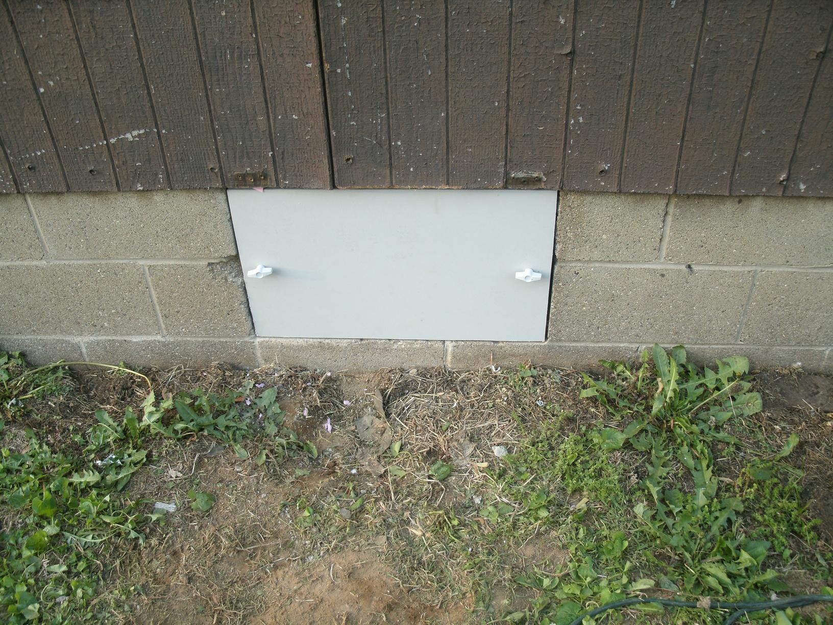 EverLast Door Improves Crawl Space in Vienna, WV. - After Photo