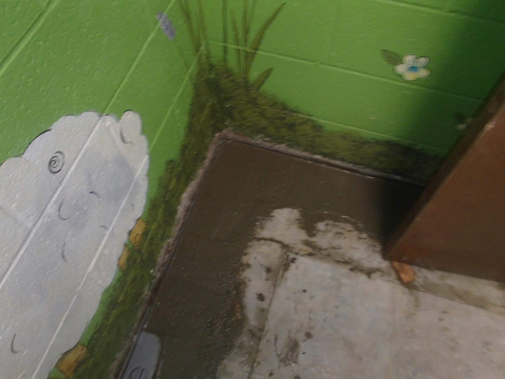 Church gets Waterproofed in St. Albans, WV - After Photo