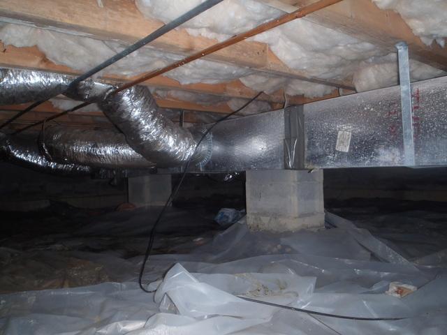 Crawl Space Waterproofing in Mount Hope, WV