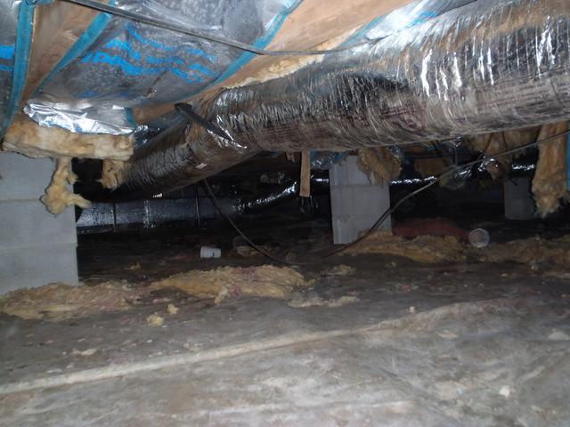 Crawl Space Waterproofing in Beckley, WV