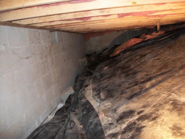Crawl Space Waterproofing in Oak Hill, WV