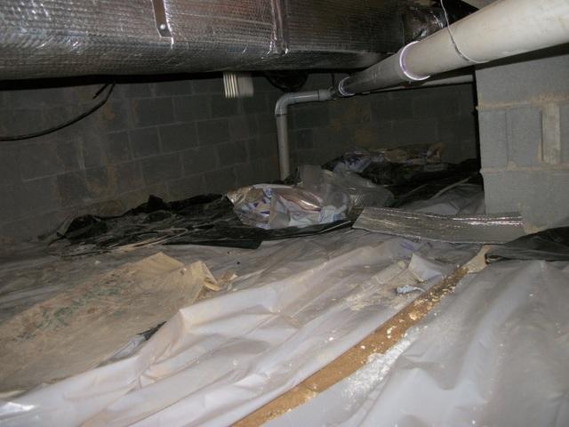 Crawl Space Encapsulation in Elkins, WV