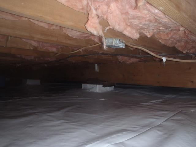 Crawl Space Encapsulation in Ona, WV