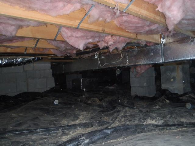 Crawl Space Encapsulation in Fayetteville, WV