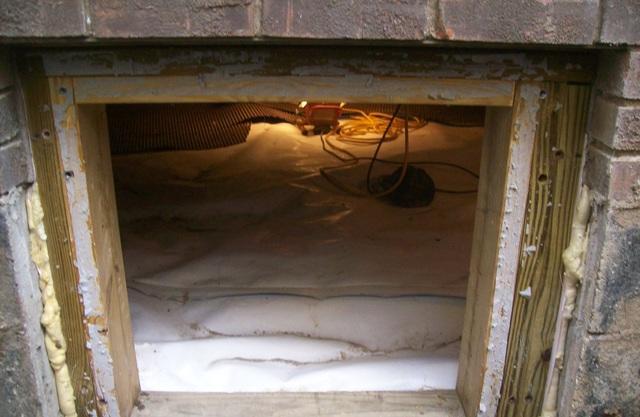Crawl Space Encapsulation in St. Albans, WV