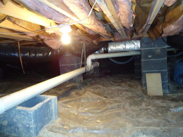 Crawl Space Waterproofing in Hurricane, WV
