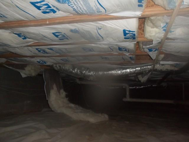 Crawl Space Encapsulation in Proctorville, OH - Before Photo