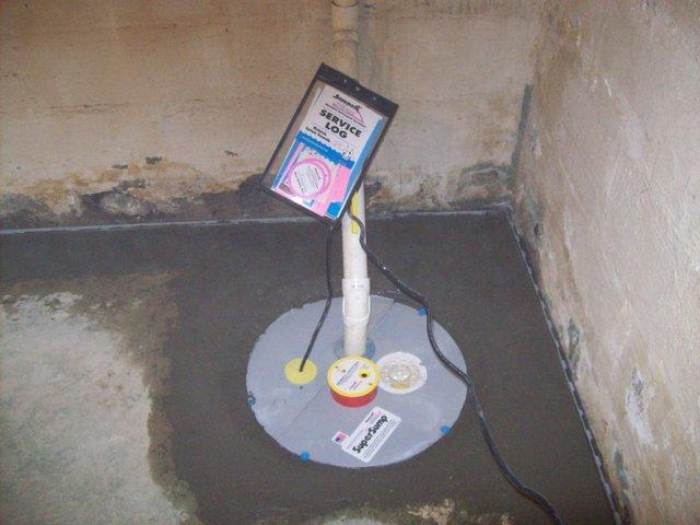 Basement Waterproofing in London, WV